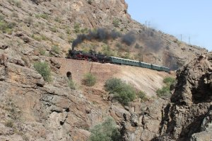 TCDD 56 548: Last steam locomotive in the Taurus mountains?
