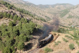 TCDD 56 548 on the line between Ulukişla and Çiftehan