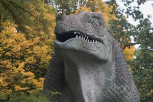 Iguanodon at Crystal Palace Park