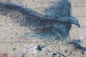 DALeast's depiction of the extinct Haast eagle