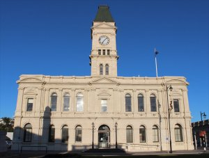 The former chief post office in Oamaru