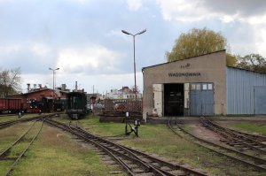 Another view of the depot at Żnin