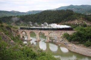 16.27 on the viaduct between Kardzhali and Momchilgrad