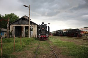 Turning back the clock: Three steam locomotives at Momchilgrad