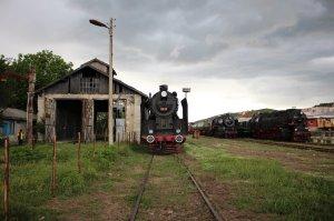 Turning back the clock: Three steam locomotives at Momchilgrad