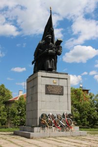 The Liberators' memorial in Kardzhali