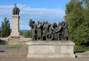 The Monument to the Soviet Army