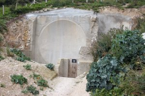 One of the two early sound mirrors