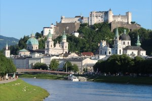 Salzburg and the Salzach