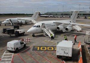 CityJet BAE 146 Avro RJ85s at Dublin Airport