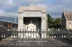 The Sigerson Memorial at Glasnevin