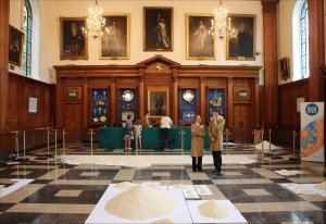 Of all the people on all the world at the Inner Temple Hall