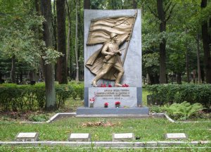 Soviet War Memorial at Pokrov Cemetery