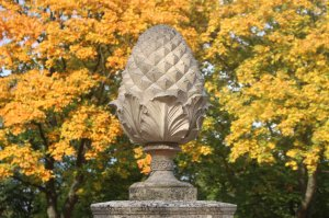 Autumnal colours at Ham House