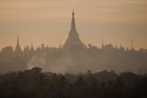 Yangon at sunrise